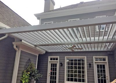 Attached Sundance Louvered Roof