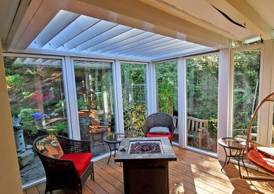 High Quality Porch Louvered Roofs