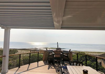 Beachside louvered roof