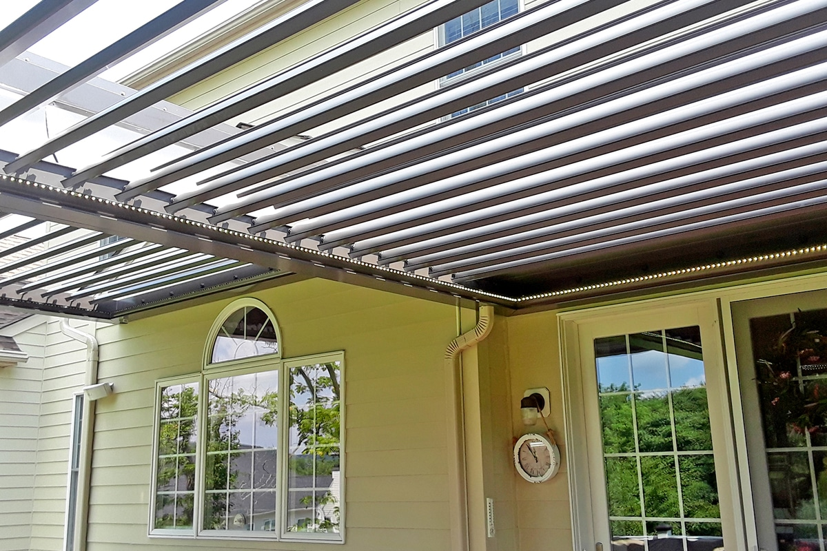 Louvered Roofs by Sundance LR, Automated Pergola Roofs and Awnings. Serving Utah, Florida, Tennessee, Colorado. Highest Quality and Built to Last. We take pride in our craftsmanship, where each system is proudly built in the USA.