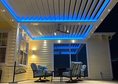 Cottage louvered roof
