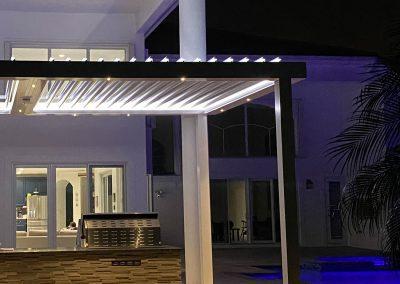Sundance Louvered Roof LED pool