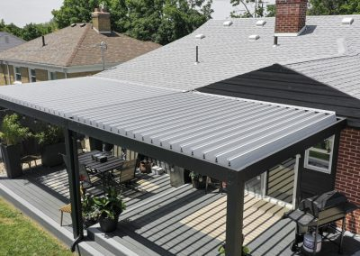 Deck cover top angle