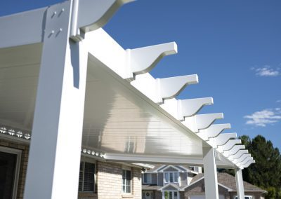 Patio cover rafter tails