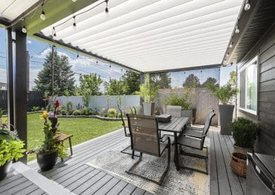 Perfect deck cover